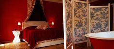 Zabola Estate, Transylvania :X Vlad The Impaler, Red Rooms, Old Houses, Romania, To Go, Bed, Interior, Places, Count