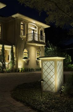 Light Up Your Front Yard With Volt Spotlights Path Lights