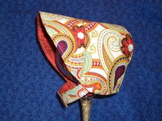 Baby Bonnet Paisley by AdorableandCute on Etsy, $22.00