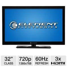 "Refurbished Element ELCFW329 32"" Class LCD HDTV"