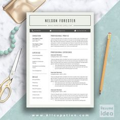 Resume Templates Word Mac Creative Resume Template Modern Cv Template Word Cover Letter