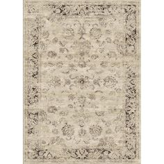nuLOOM Oriental Vintage Viscose Ashton Natural Rug (7'8 x 9'6) | Overstock.com Shopping - Great Deals on Nuloom 7x9 - 10x14 Rugs