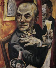Max Beckmann's autoportrait