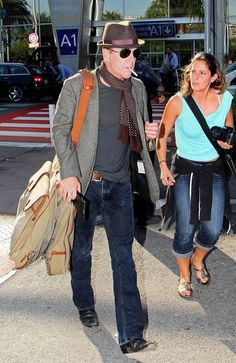 Kiefer Sutherland Photos - Kiefer Sutherland at Nice Airport - Zimbio