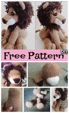 Crochet Lion Amigurumi – Free Pattern #crochet #amigurumi #freepattern