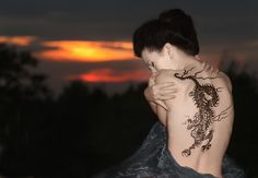 Most Significant Japanese Tattoo Designs Dragon Tattoos For Men, Dragon Tattoo Designs, Tattoos For Guys, Cool Tattoos, Japanese Tiger Tattoo, Japanese Tattoo Designs, Japanese Mythical Creatures, Astrology Tattoo, Intricate Tattoo