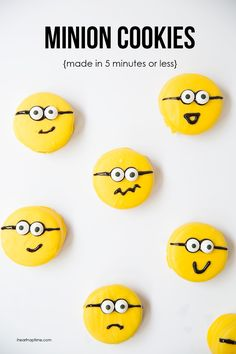 EASY chocolate covered minion OREO cookies on iheartnaptime.net