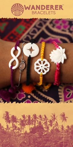 Handcarved bracelets from BALI! Make some room on your wrist: these boho bracelets are made by hand, so no two are ever the same. Explore all of the symbolic styles here: https://www.wandererbracelets.com/pages/landing-page