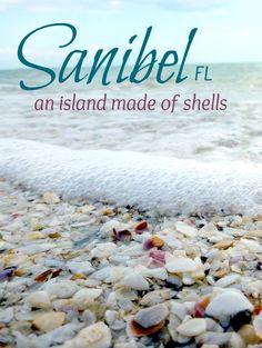 Sanibel Island Beach, FL - one of the most beautiful beaches - via Beach Bliss Living Florida Keys, Sanibel Florida, Florida Vacation, Florida Travel, Vacation Places, Florida Beaches, Vacation Destinations, Dream Vacations, Vacation Spots