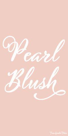 #Pantone Pearl #Blush ♔ Très Haute Diva