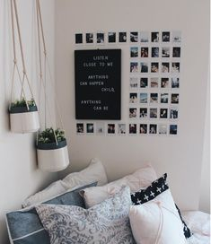 This Minimalist Dorm Room Makeover Is Absolutely Beautiful . Minimalist Dorm Decorating Ideas Along With Compact . 20 College Dorm Room Ideas To Channel Your Inner . Home and Family Cute Room Ideas, Cute Room Decor, Diy Room Ideas, Picture Room Decor, Cheap Room Decor, Photo Wall Decor, Photo Room, Photo Mural, Cute Dorm Rooms