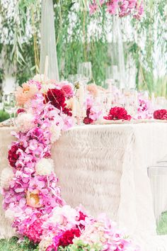 Pink Peony Wedding Inspiration from the Intrigued Experience - Perfete Long Table Wedding, Our Wedding, Pink Peonies, Peony, Wedding Decorations, Table Decorations, Pink Garden, Bridal Salon, Industrial Wedding