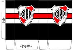 Kits Imprimibles Piquilin: Kit Imprimible River Plate GRATIS Soccer Party, Plates, Messi, Ideas Para, Scrap, Candy, Patterns, Football Invitations, Tootsie Rolls