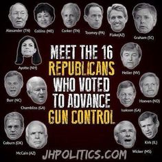 "Vote 'em out and protect your 2nd Amendment right! Congress cannot take away, amend or ""transform"" any of the Bill of Rights! Protect them!"