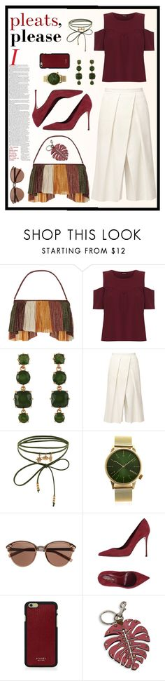 """Outfit #141"" by emydeishly ❤ liked on Polyvore featuring Água de Coco, WearAll, D.L. & Co., TIBI, Accessorize, Komono, Witchery, Sergio Rossi, Vianel and Valentino"