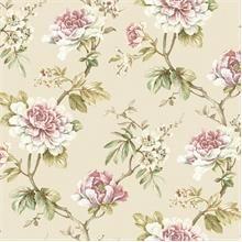 Tapety RASCH - s romantickým květinovým vzorem