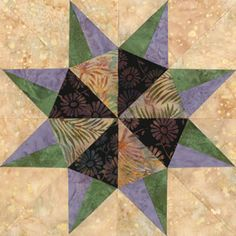 Quilt Patterns Free Quilt Patterns eQuiltPatterns.com: Colorado Springs Delight Quilt Block