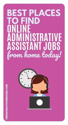 If you are looking to earn some extra cash or even an income working from home, then doing online administrative jobs is one of the best options for you. If you have some administrative skills, you can use that to get admin jobs. You can work part-time or full-time from your home, providing administrative support to companies and individuals across the world. This guide will help you get started! #workathome #hiringnow #onlinejobs Virtual Administrative Assistant, Virtual Assistant Jobs, Administrative Support, Home Based Work, Work From Home Jobs, Admin Jobs, Customer Service Jobs, Typing Jobs, Earn Money Online Fast
