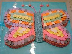 Necco Wafer Butterfly