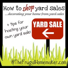 Tips from some yard sale shopping pros