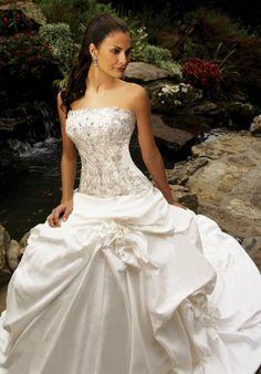 beading wedding dresses