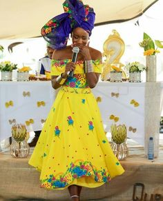 Love happily in Tsonga dress Latest African Fashion Dresses, African Print Dresses, African Print Fashion, Africa Fashion, African Dress, African Prints, African Wedding Attire, African Attire, African Wear