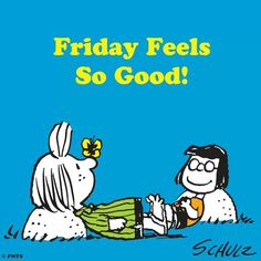 Friday's feel good
