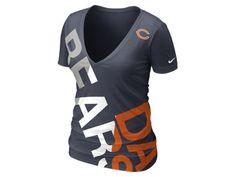Nike Off-Kilter Tri-Blend (NFL Bears) Women's T-Shirt