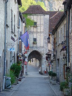 Rocamadour again.  This is the main gate to the little town. Gorgeous.