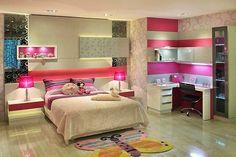 Construindo Minha Casa Clean: Ambientes com Rosa Pink!!! Amei!
