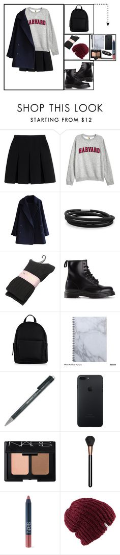 """""""Harvard Universty Student"""" by dilsad-cangr on Polyvore featuring moda, Alexander Wang, H&M, BillyTheTree, Dr. Martens, New Look, NARS Cosmetics, MAC Cosmetics ve Coal"""