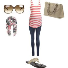 """""""Maternity Summer Looks"""" by passport2style on Polyvore"""