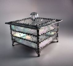 0f4c7ffcccb3 30 Best Stained Glass Boxes images in 2019