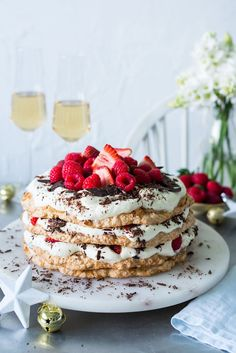 Coconut Macaroon Layer Cake