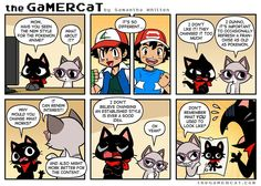 Stylish_ GaMERCaT comic by Samantha Whitten