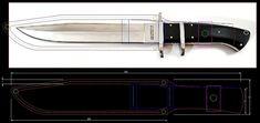 Knife Template, Knife Patterns, Diy Knife, Belt Grinder, Custom Knives, Knife Making, Blacksmithing, Axe, Mountain Lion