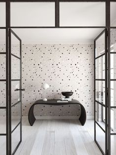 drop it MODERN - Modern and contemporary interior designed wallpaper for the studio and home. Hippie Home Decor, Indian Home Decor, Luxury Home Decor, Cheap Home Decor, Minimalist Home Interior, Minimalist Decor, Interior Wallpaper, Closet Wallpaper, Luxury Wallpaper