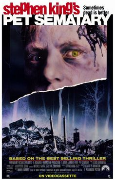 Pet Sematary 11x17 Movie Poster (1989)