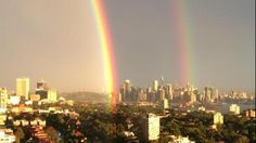 Double Rainbow Over the Sydney Harbour Wows Everyone (PHOTOS) - weather.com