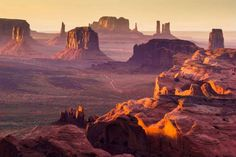 Monument Valley, UT and AZ the vast expanses of the American Southwest. Hundreds of miles from any major metropolitan area, the sandstone buttes at Monument Valley Navajo Tribal Park rise majestically from the earth's surface