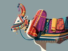 Decorative bull shared via https://chrome.google.com/webstore/detail/design-hunt/ilfjbjodkleebapojmdfeegaccmcjmkd?ref=pinterest