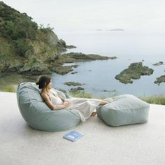 Bean bag outdoor comforts