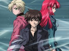 anime, kaze no stigma, and ren image
