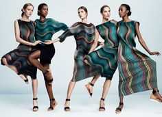 Issey Miyake - SS16 campaign.