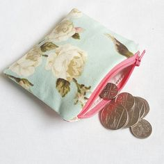 Cute little coin purse https://www.etsy.com/uk/listing/260744508/cute-country-cottage-coin-purse-small