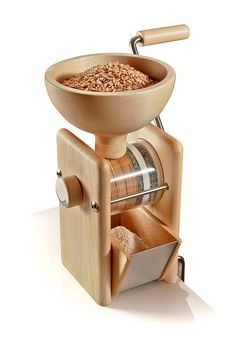 The KoMo hand grinder grain mill: Quality & service are found at PHG. Home Gadgets, Kitchen Tools And Gadgets, Cooking Gadgets, Kitchen Supplies, Cooking Tools, Kitchen Items, Home Decor Kitchen, Kitchen Utensils, Kitchen Art