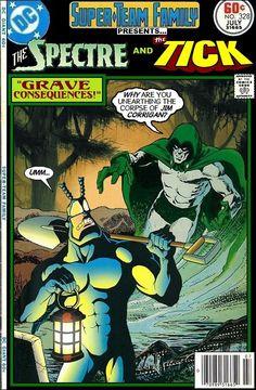 Spectre and Tick Team-Up - DC x New England Comics Crossover - Ben Edlund