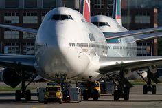 Qantas and Cathay Paific