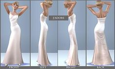 Mod The Sims - Prom Night Dresses For Teens - 3 Dresses