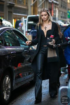 Abbey Lee Kershaw by STYLEDUMONDE Street Style Fashion Photography